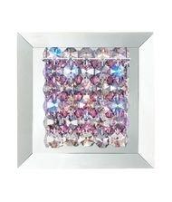Geometrix by Schonbek MTW0606BOA Matrix 1 Light Wall Sconce with Boa Swarovski Elements crystal