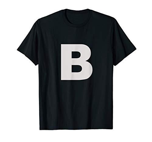 Letter B T Shirt For Lettering Funny Spelling Words Phrases]()