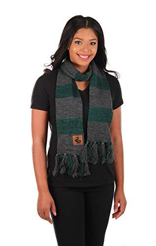 elope Harry Potter Slytherin Heathered Knit Scarf]()