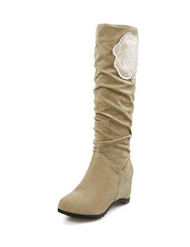 Zapatos Casual Eu36 5 Vestido negro Oficina Brown Uk Azul Y Trabajo Botas Cerrada Tacón Uk8 5 Brown Eu42 Bajo Xzz Punta Ante 5 Uk3 us10 De Cn35 Redonda Mujer us5 5 Cn43 dAxd7f