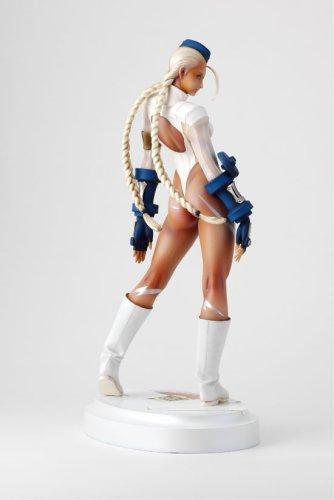 31H2NHQ8SDL Street Fighter Zero 3 Cammy Authentic White Ver PVC Statue 1/6 Scale