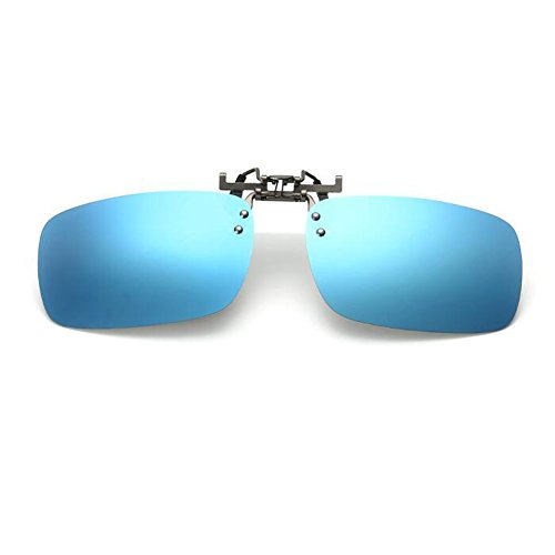 l'extérieur éblouissement Des Polarisation lunettes pour Conduite up Clip Bleu lunettes Mixte Protection Pêche de Lentille Élégant on Flip soleil Hzjundasi Anti UV400 U4WwnAPqw