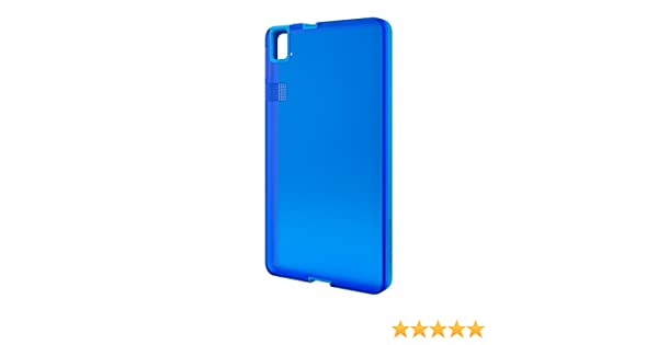 bq Gummie Cover - Carcasa para bq Aquaris E6, color azul: Amazon ...