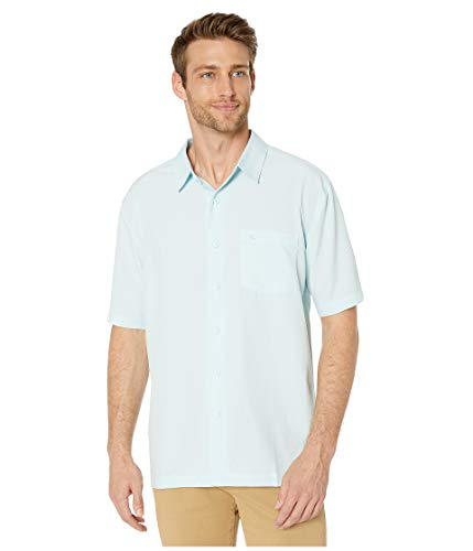 Quiksilver Waterman Men's Centinela 4 Woven TOP, Crystal Blue, -