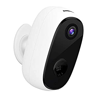 Security Camera Outdoor with 10000mAh Battery, Zumimall 1080P Wireless WiFi Cameras for Home Security, Waterproof Camera, IR Night Vision, 2-Way Audio, Motion Detection, Alert, Remote View, Cloud/SD