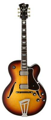 FGN Masterfield - Jazz semiaku Stik de guitarra, Jazz Burst: Amazon ...