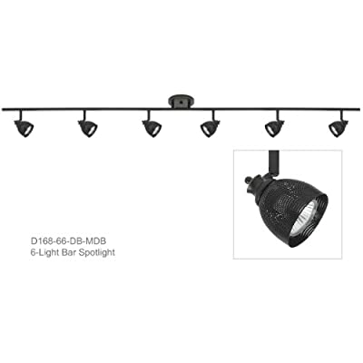 Direct-Lighting D168-66-DB-MDB 6-Light Fixed Track Lighting Kit