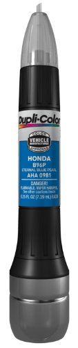 Dupli-Color AHA0981 Eternal Blue Pearl Honda Exact-Match Scratch Fix All-in-1 Touch-Up Paint - 0.5 oz.