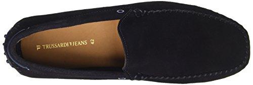 Trussardi Jeans 77s56153, Mocassini Uomo Multicolore (Navy/Bluette)