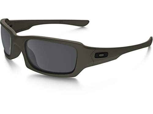 Oakley SI Fives Squared Cerakote Mil Spec Green Black Iridum Lens OO9238-2154 (Oakley 4 1 2 Objektive)
