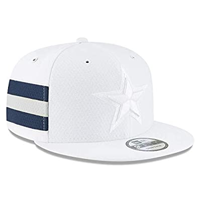 New Era Dallas Cowboys 2018 NFL Sideline Color Rush Official 9FIFTY Snapback Adjustable Hat - White