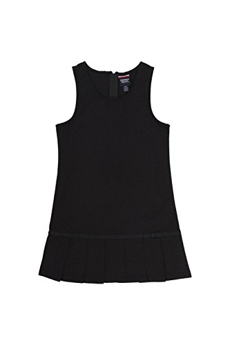 French Toast Pleated Hem Jumper(Toddler Sizes) Black ()