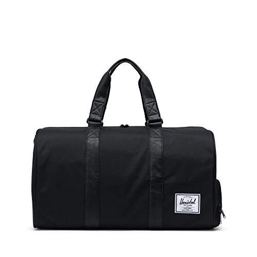 Herschel Novel Duffel Bag, Black/Black Synthetic