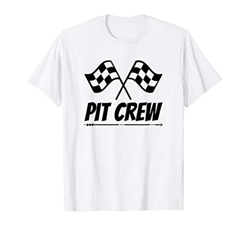 Funny Race Track T-Shirt Pit Crew Racing Mechanic TShirt