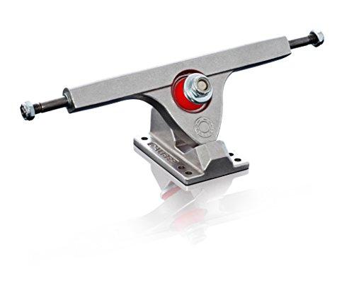 (Caliber Truck Co. 10-Inch Skateboard Truck (Set of 2), Silver, 44-Degree )