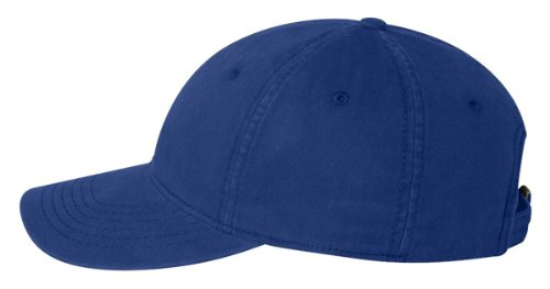 Authentic Headwear - ''The Cozy'' Unstructured Cap - AH35 - Adjustable - Royal - Except Glide Tri