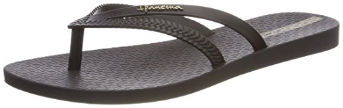 Black Schwarz Bossa Femme Fem Tongs Ipanema Black qzFPwRR