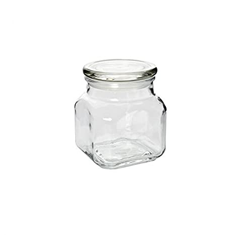 32-Ounce,Set of 4 Anchor Hocking Emma Jar with Glass Cover