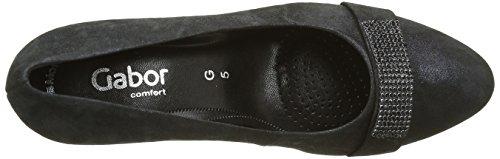 Gabor Shoes Comfort Fashion 52.163, Zapatos de Tacón para Mujer Azul (Ocean 16)