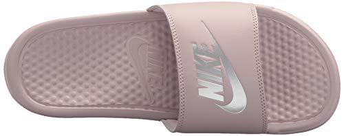 Silver metallic Jdi Rose Nike Multicolore particle Scarpe Wmns Da 614 Fitness Benassi Donna E1Pvw1q