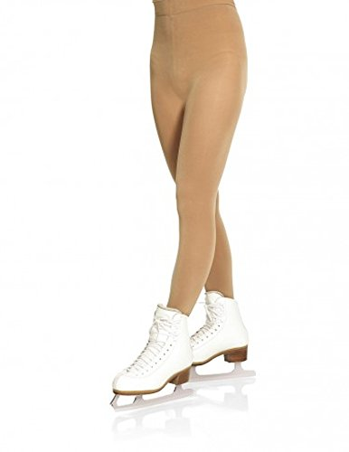 Mondor 3360 Footed Performance Figure Skating Tights (60 denier) - Light Tan - S-P