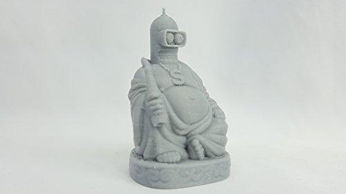 3D Cauldron Futurama Inspired Bender Buddha