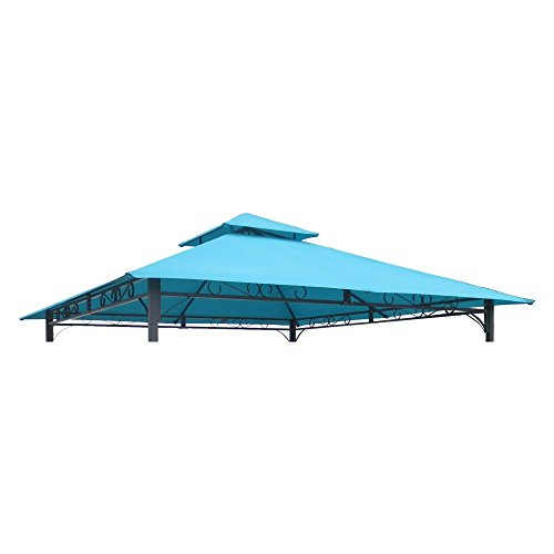 Top International Caravan Mesa 10 ft. 2-Tiered Vented Outdoor Gazebo Canopy Replacement Top supplier