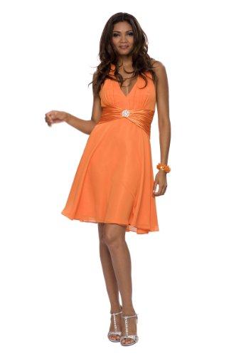 Astrapahl, Vestido para Mujer Naranja (Orange)