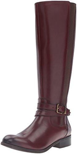 Clarks Women's Pita Vienna Riding Boot - Mahogany Leather...