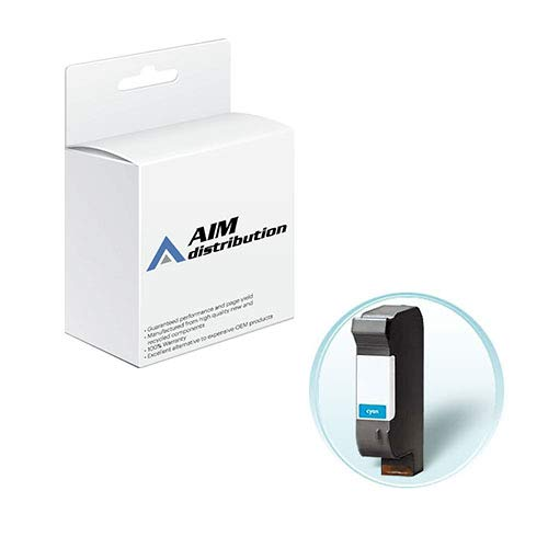 AIM Compatible Replacement for HP NO. 44 Cyan Inkjet (365 Page Yield) (51644C) - Generic