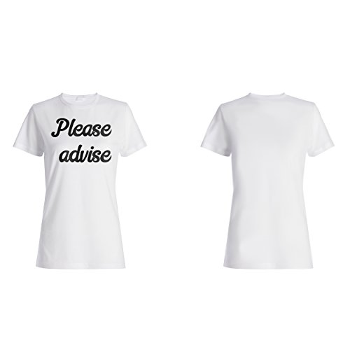 Bitte raten Sie lustige Neuheit Damen T-shirt d468f
