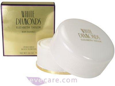 Elizabeth Taylor White Diamond Body Radiance Perfumed Body Powder 2.6oz/75g