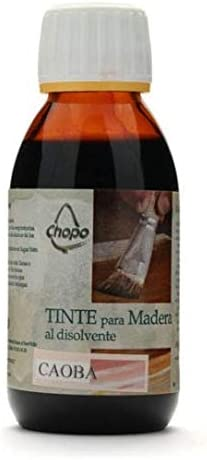 Tinte Madera al disolvente Chopo 125 cc color CAOBA: Amazon ...