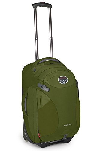Osprey Meridian Wheeled Luggage (22-Inch60 Liter Patina Green)