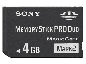 Sony 2 Duo - 4 GB Sony PRO DUO (Mark 2) Memory Stick for PSP