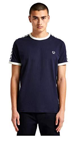 T shirt Avec Perry Bande Blu Fred Bordures À Contrastantes PT5SZw