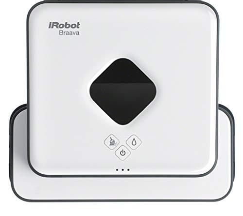 iRobot Braava 390t – Robot friegasuelos 2 en 1: Limpieza en seco y en húmedo – Mejor para habitaciones múltiples y…