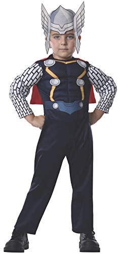 Rubie's Costume Baby Boy's Marvel Classics Avengers Assemble Muscle Chest Thor,]()