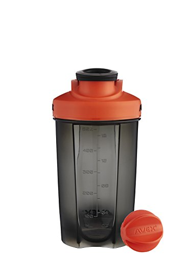 AVEX Mixfit Shaker Bottle, 20oz, Orange from Avex