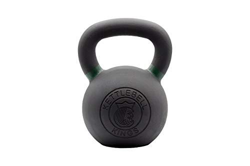 Kettlebell Kings | Kettlebell Weights | Powder Coat Kettlebell Weights for Women & Men | Powder Coating for Durability, Rust Resistance & Longevity (24) ()