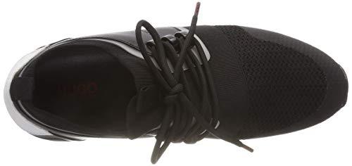 Schwarz Femme 001 black Running m Hugo Hybrid Baskets 7vgAgF