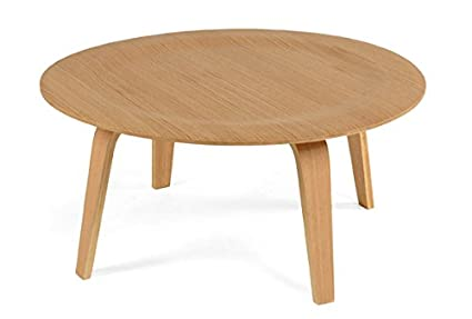 Image Unavailable. Image Not Available For. Color: ApexStore Madeira Molded  Plywood Round Coffee Table ...