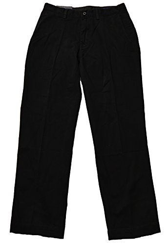 - Polo Ralph Lauren Mens Classic-Fit Flat-Front Chino Pants (Polo Black, 31x30)