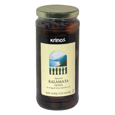 - Krinos Olive Kalamata, 16 oz