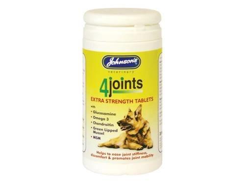 (10 Pack) Johnsons Vet 4 Joints Mobility Tablets 30`s