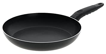 Mirro A79705 Get A Grip Aluminum Nonstick Fry Pan Cookware, 10-Inch, Black