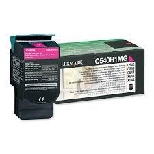 (Genuine OEM brand name Lexmark Magenta High Capacity Rtn Prog. for C540/543/544 C543/544 2K Y C540H1MG)