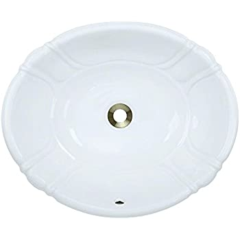 KOHLER K-2292-0 Intaglio Self-Rimming Bathroom Sink, White