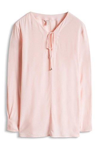 Esprit mit Ziernaht - Blusa Mujer Rosa (LIGHT PINK 690)