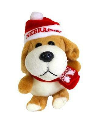 Nebraska Cornhuskers Santa - NCAA Nebraska Cornhuskers Plush Dog Ornament